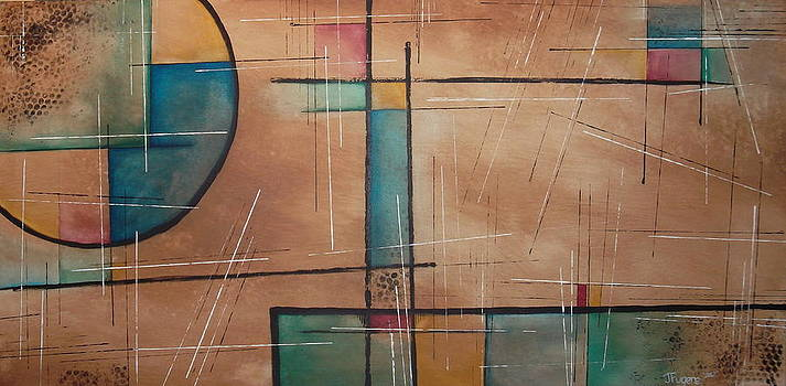 Modern Abstract by Joe Fugere