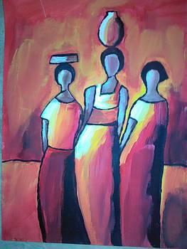 Modern Art Painting by Neha  Shah