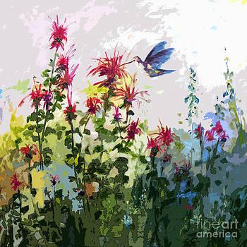 Ginette Callaway - Modern Hummingbird and bee Balm