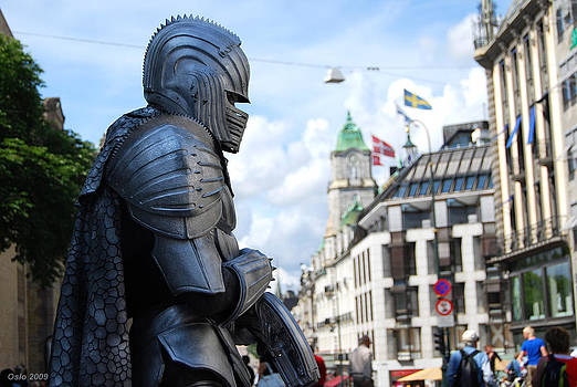 Modern knight by Arylana Art