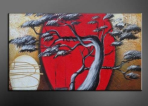 Modern Metal Wall Art Paintings Nature Paintings by FabuArt