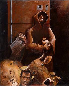 Modern Saint Francis by Charles  Bickel
