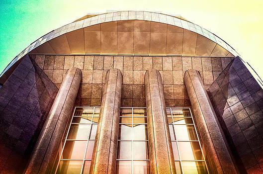 Modern style building. by Slavica Koceva