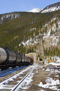 Steve Krull - Moffat Tunnel East Portal at the Continental Divide in Colorado