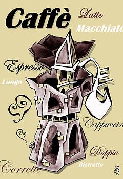 Arte Venezia - Moka Italian Coffee Art - Espresso Italy
