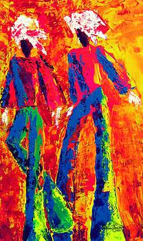 Moko Jumbies I by Rebecca Foster