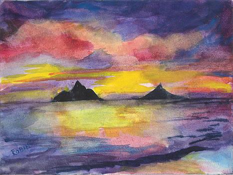 Mokoluas at Sunrise by Jennifer Robin