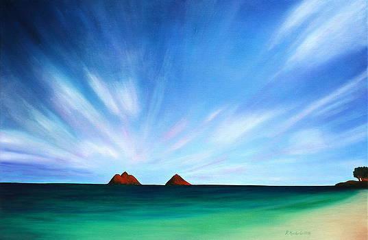Mokulua Islands by Kristine Mueller Griffith