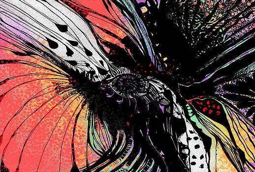 Molecular Poppy Fusion by Mary Eichert
