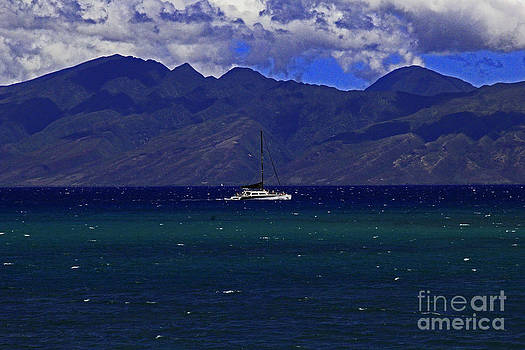 Molokai Sail by Jeff Sommerfield