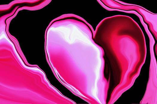 Molten Heart12  Pink by Linnea Tober