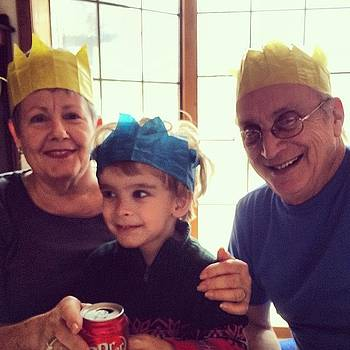 Mom And Dad With Austjn! #grandparents by Ava Barbin-king