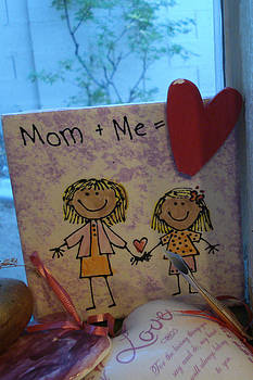 Mom And Me Equals Love by Jessica Gale
