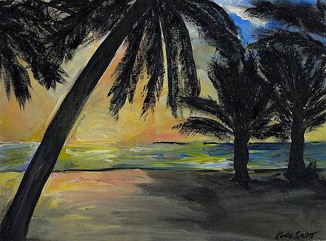 Mombasa Sunrise  by Katie Sasser