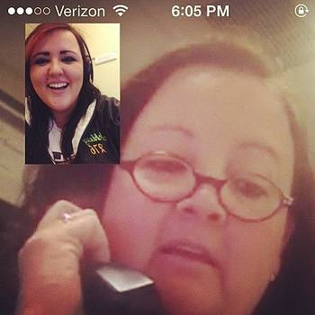Momma Ke$h And I Catch Up On Facetime by Ashleigh Fabianich