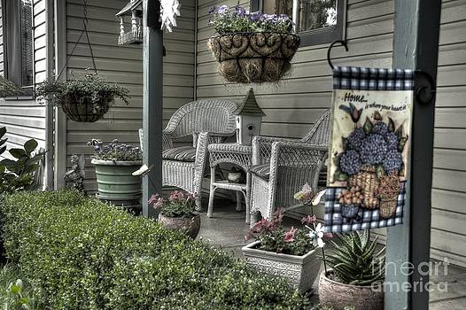 Mom's Porch by David Johnson