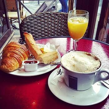 Mon Petite Déjuener Francais #paris by Sarah Dawson
