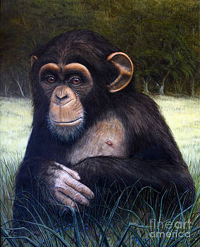 Mona Chimp by Joey Nash