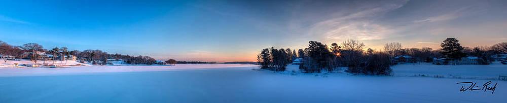 Mona Lake Dawn by William Reek