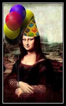 Gravityx9  Designs - Mona Lisa the Birthday Girl