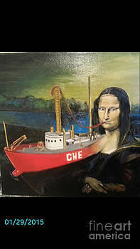 Mona Lisa unfinished by Jude Darrien