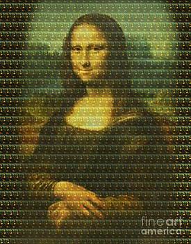 Mona Mosaic by Russ Murry