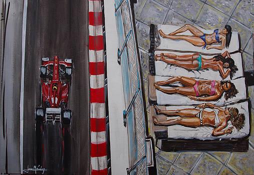 Monaco Glamour by Juan Mendez