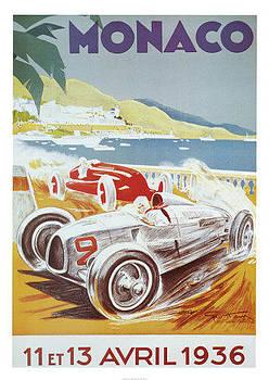 Monaco Grand Prix 1936 by Vintage