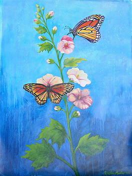 Monarch Butterflies by Kristine Mueller Griffith