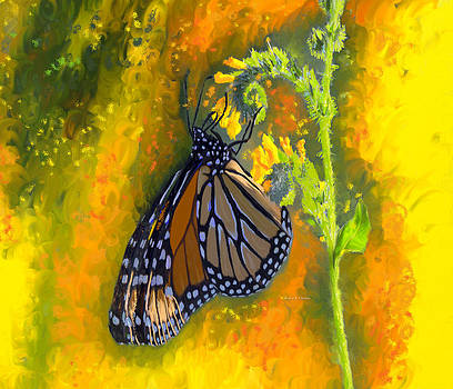 Monarch Butterfly Migration by Angela Stanton