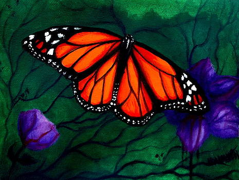 Monarch Butterfly by Veronica Calderon