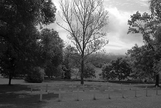 Monastery Cemetery by M Hess