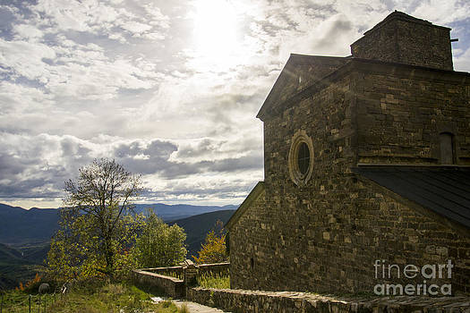 Monastery In Huesca by Stefano Piccini