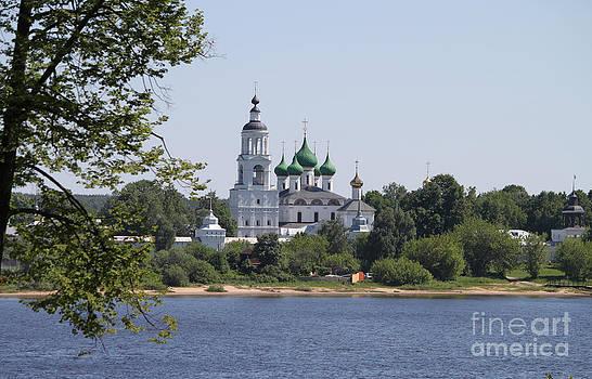Monastery in Yaroslavl by Evgeny Pisarev