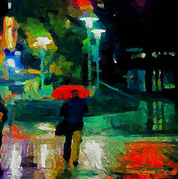 Monday Night on Dundas West TNM by Vincent DiNovici