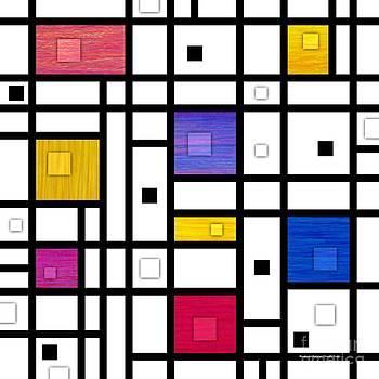 Mondrianish Variation by David K Small