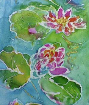 Monet Water Lilies in detail by Shan Ungar