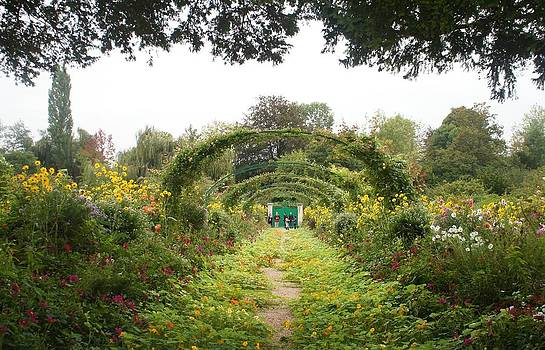 Monet's Garden Giverny by Kristine Bogdanovich