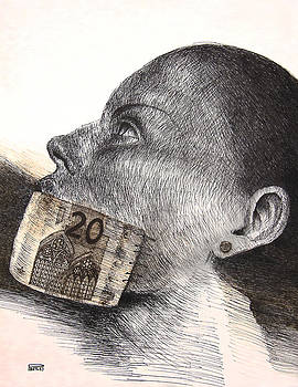 Money kiss by Piotr Betlej