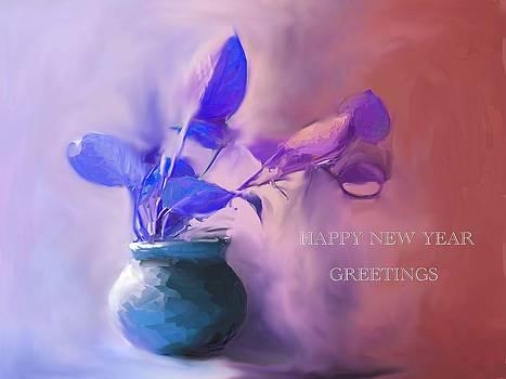 Usha Shantharam - Money Plant - Greeting card