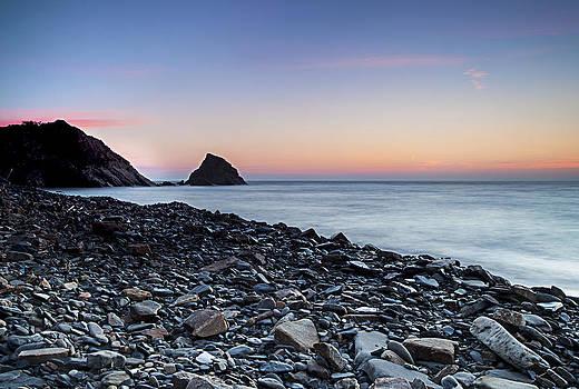 Monk Haven Beach Pembrokeshire by Simon West