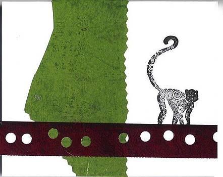 Monkey On A Rope by Glenda Kotchish