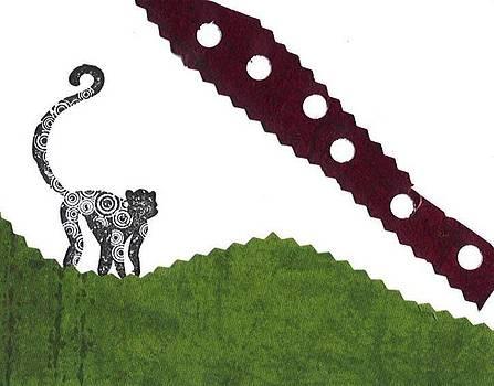 Monkey on Hill by Glenda Kotchish