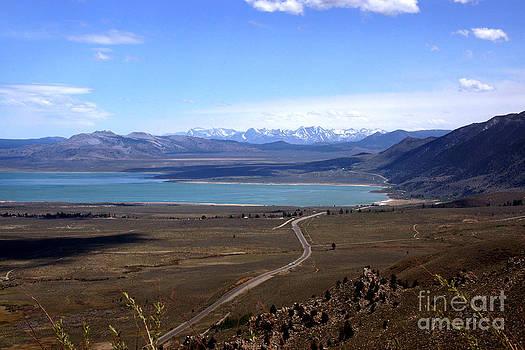 Mono Lake and the Sierra Nevada by Thomas Bomstad
