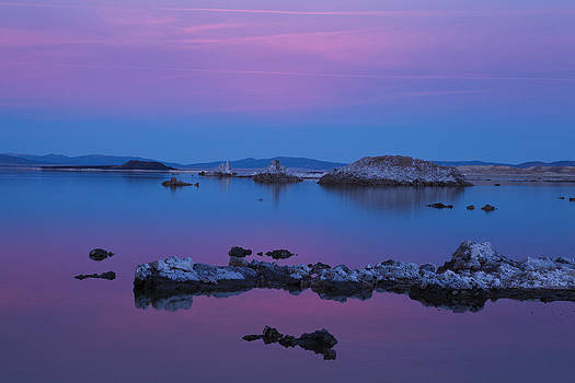 Mono Lake Sunset by Sally Hanrahan