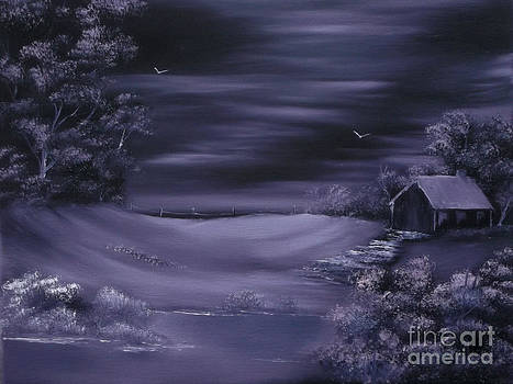 Purple Winter Shroud.Sold by Cynthia Adams