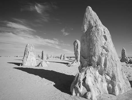 Monochrome Pinnacles by Carl Koenig