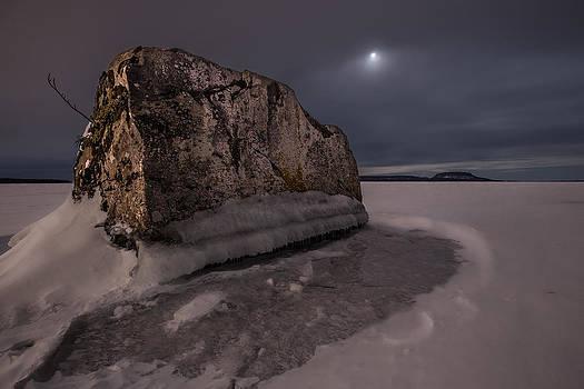 Monolith in the Midnight Sun  by Jakub Sisak