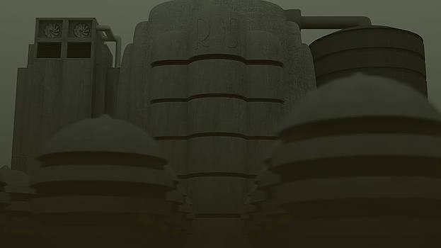 Monolithic Mars by Robert Sanders