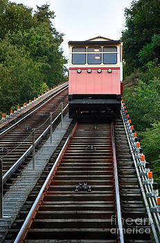 Monongahela Incline In Pittsburgh PA by Sharon Dominick